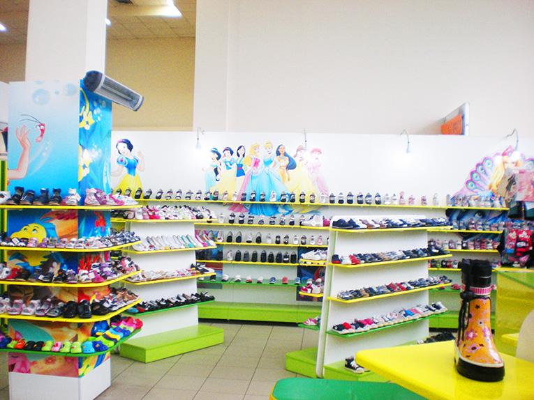 Магазин детской обуви в Харькове